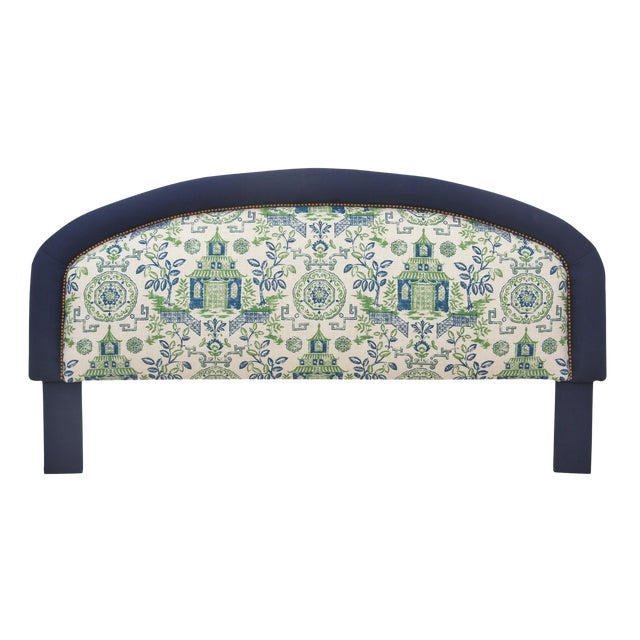 King Size Chinoiserie Style Headboard - Image 1 of 4