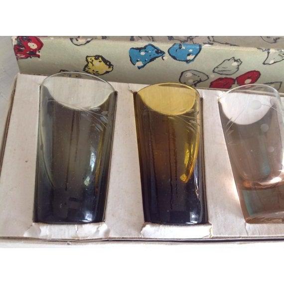 Vintage Napco Whisky Shot Glasses - Set of 6 - Image 3 of 6