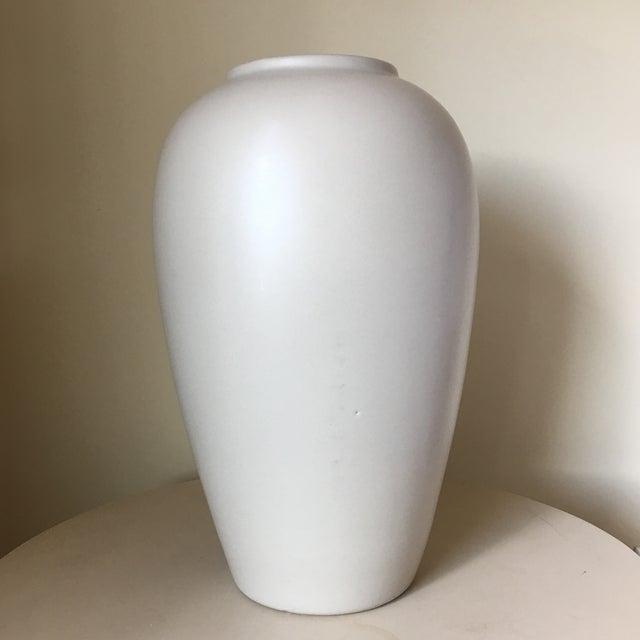 Haeger Cream Ceramic Vase - Image 2 of 4