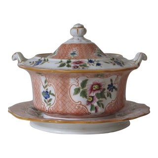 Antique Floral French Tureeen