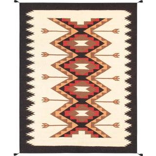 "Pasargad Navajo Hand-Woven Area Rug - 3' 1"" X 5' 2"""