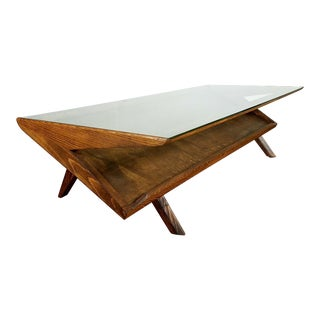 Brown & Saltman Mid-Century Z Coffee Table