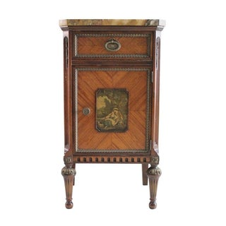 French Neoclassical Inlaid Nightstand