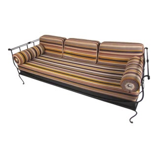 Modern Wrought Iron Daybed