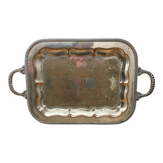 Tray - Silver on Copper