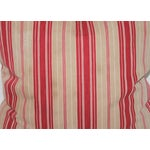 Image of Red Striped Ticking Pillow