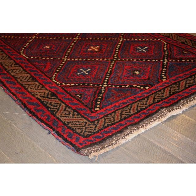 Apadana - Vintage Red Baluch Rug - 3' X 4' - Image 2 of 2