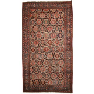 RugsinDallas Antique Persian Hamadan Hand Knotted Wool Rug- 10′10″ × 19′4″