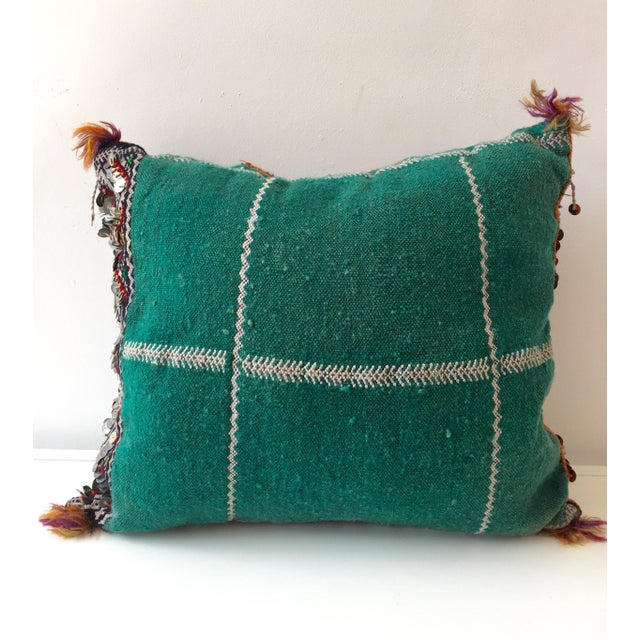 Image of Moroccan Dhurrie Throw Pillow