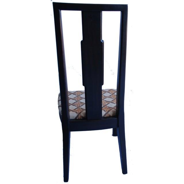 John Widdicomb Burl Walnut Dining Chairs - S/6 - Image 5 of 10