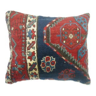 Navy Serapi Rug Pillow
