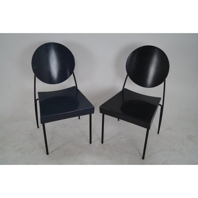 Set Of 6 Dining Chairs: Dakota Jackson Dining Chairs - Set Of 6