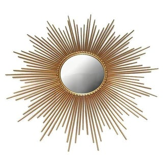 Large Glam Starburst Wall Mirror
