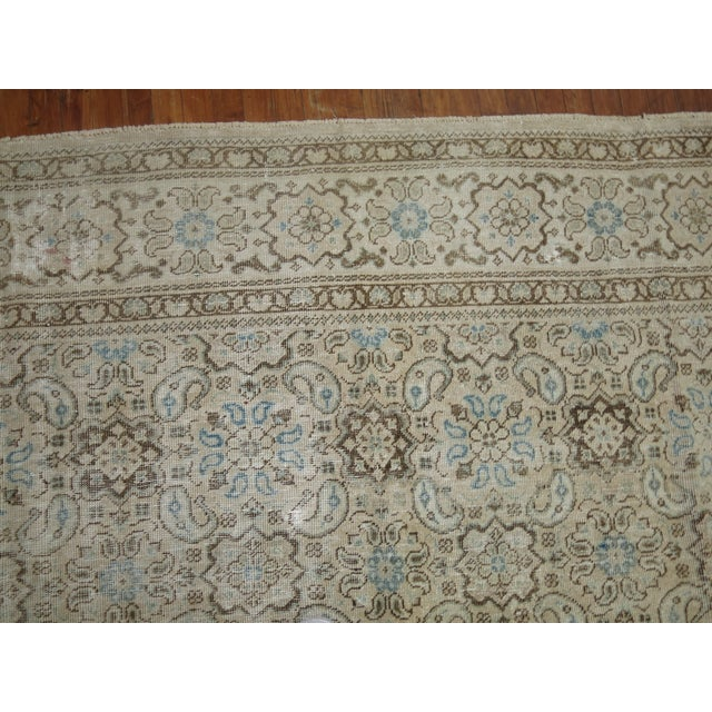 Vintage Shabby Chic Persian Malayer Rug, 8'1'' x 11'8'' - Image 6 of 9