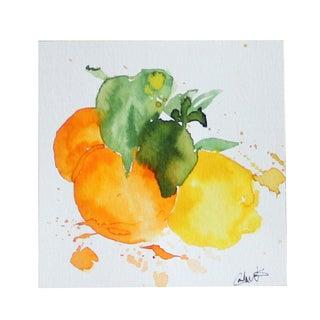"""""""Arizona Citrus"""" Original Watercolor Painting"""