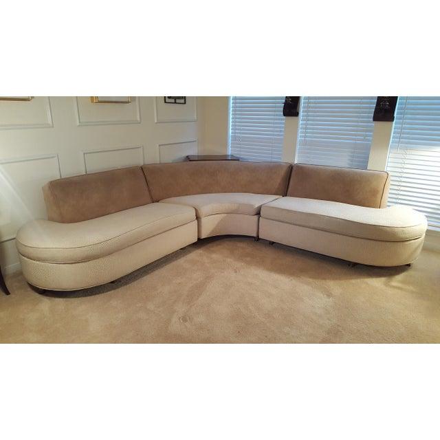 Elegant Mid Century Sofa - Image 2 of 7