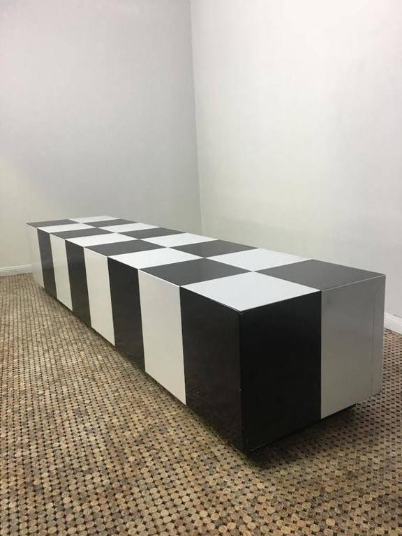 Milo Baughman Checkerboard Coffee Table   Image 3 Of 3