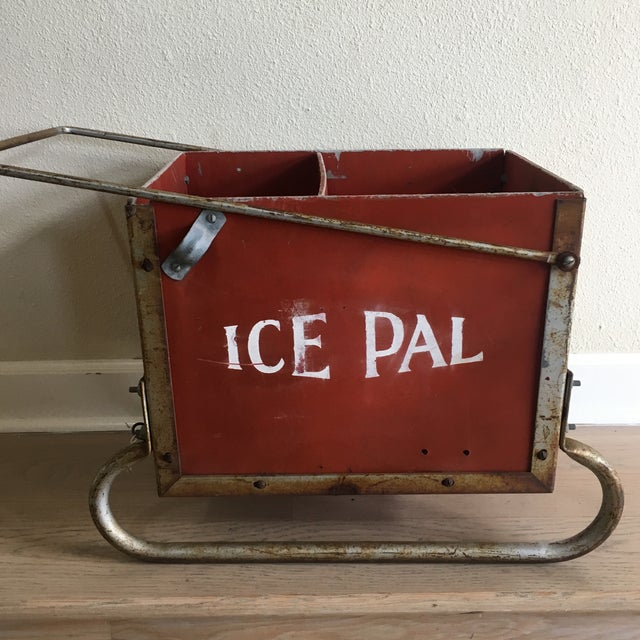 """Image of Vintage """"Ice Pal"""" Ice Fishing Sled"""