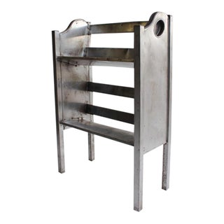 Industrial Metal 2 Tier Magazine/Book Holder by Simmons