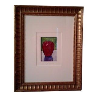 Maria Reyes-Jones Apple Painting