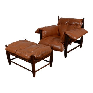 Sheriff Lounge Chair and Ottoman