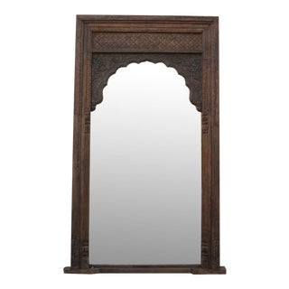 Imposing Arched Barmer Floor Mirror