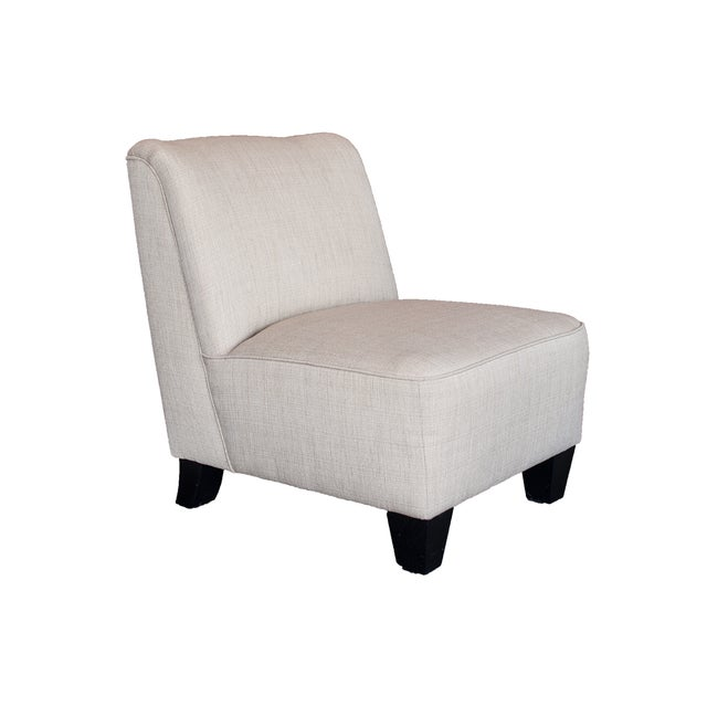 Image of Hiatt Armless Cream Chair