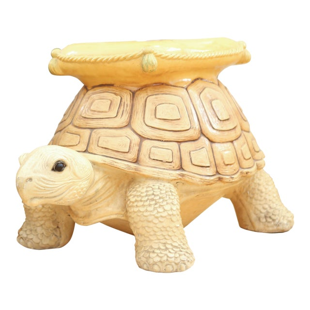 1960s Vintage Turtle Garden Seat - Image 1 of 9