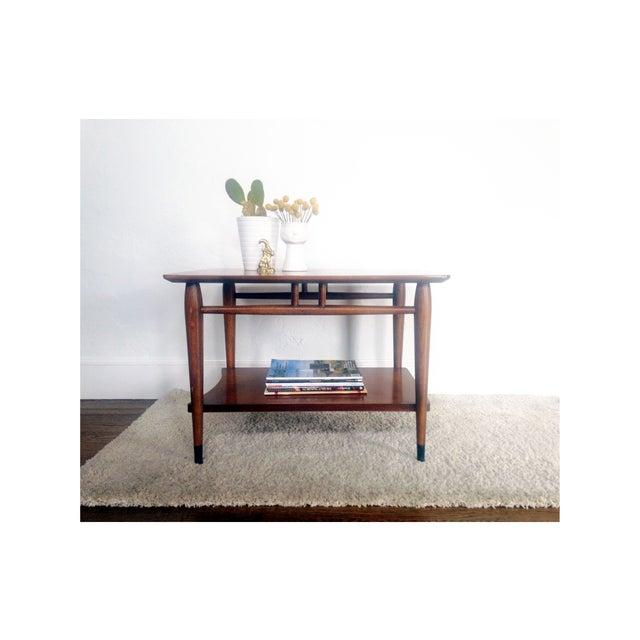 Mid Century Wood Coffee Table - Lane - Image 3 of 6