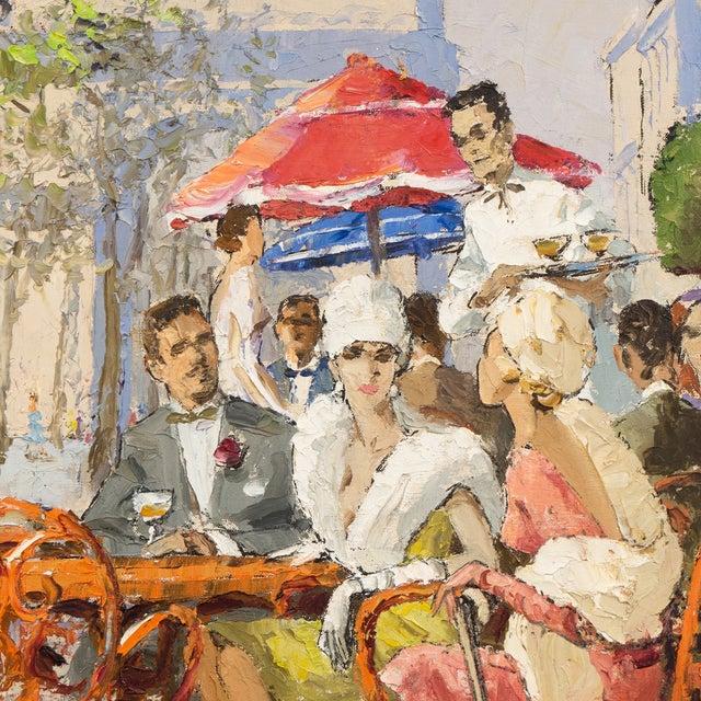 Image of Neil McVeigh Vintage 1965 Champs-Elysées Painting