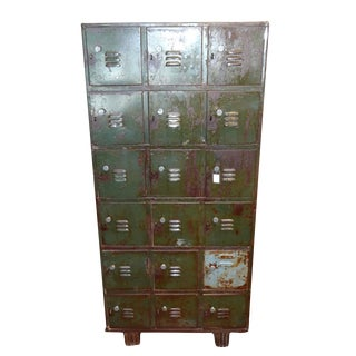 Vintage Colonial Storage Locker