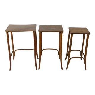 Vintage Thonet Nesting Tables - Set of 3