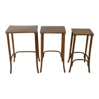 Vintage Thonet Nesting Tables - Set of 3