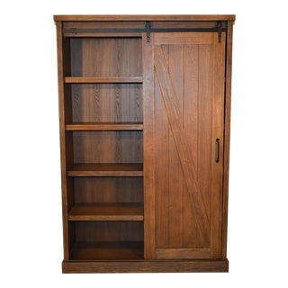 Bookcases With Barn Door