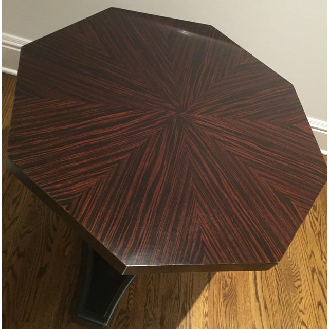 Ralph Lauren Pedestal Side Table - Image 4 of 7