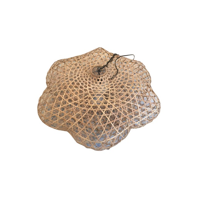 Serena and Lily Rattan Pendant Light - Image 1 of 5