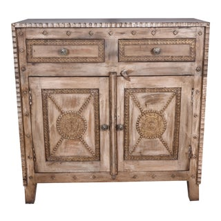 Mango Wood Cabinet Sideboard