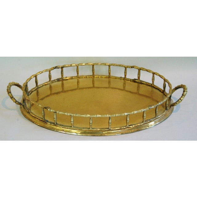 1960s Brass Cocktail Tray - Image 5 of 5