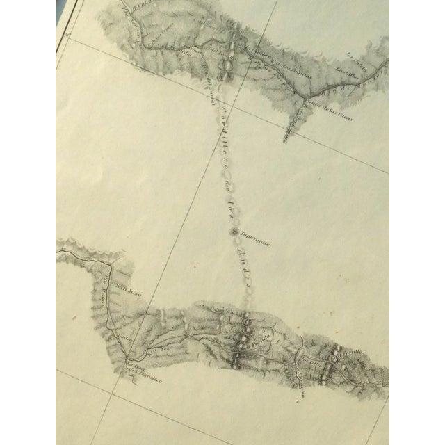 Santiago, Chili Uspullata & Portillo Passes, 1855 Map - Image 7 of 8