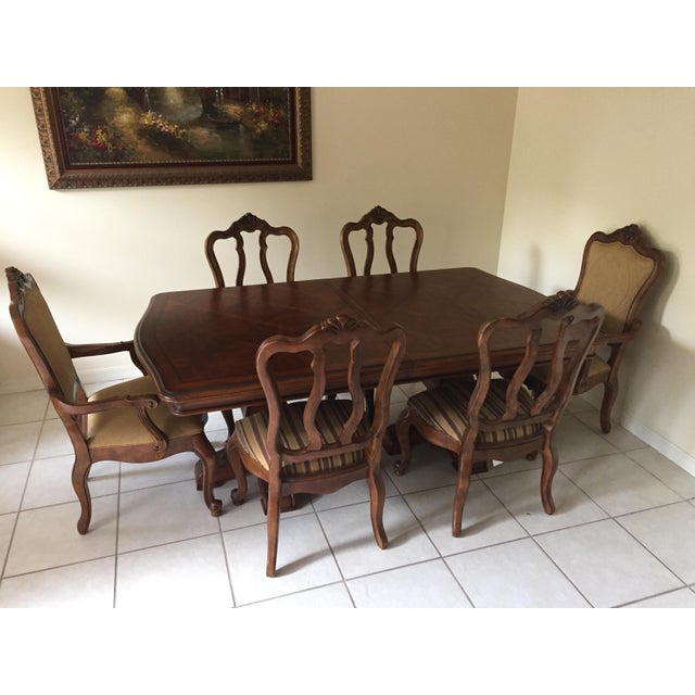 Ethan Allen Dining Room Sets: Ethan Allen Tuscany Dining Set - Set Of 7