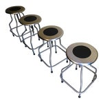 Image of Design Within Reach Precision Stools - Set of 4
