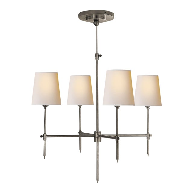"""Thomas O'Brien for Visual Comort """"Bryant"""" Chandelier - Image 1 of 9"""