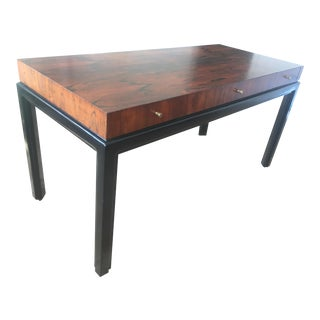 Mid-Century Rosewood and Mahogany Desk Harvey Probber