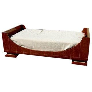 Ruhlmann Style Deco Revival Bed