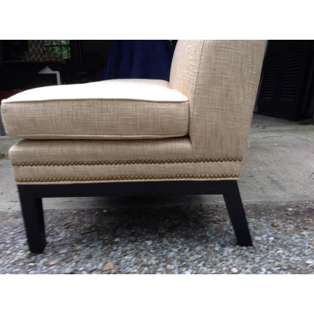 Reupholstered Vintage Slipper Chairs - A Pair - Image 2 of 3
