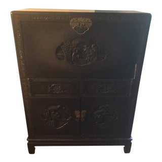 Antique Chinese Secretary Writing Desk
