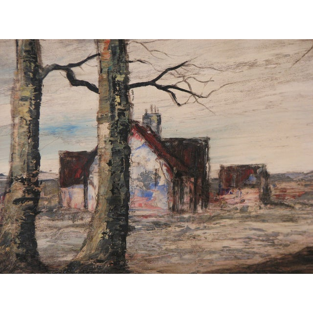 Signed Oil Painting by Casis, Forced Perspective - Image 4 of 5