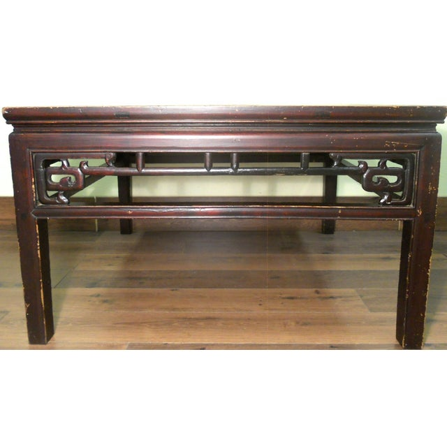 Antique Ming Coffee Table - Image 4 of 8