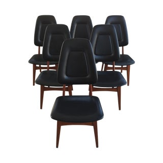 Hovmand-Olsen High Back Dining Chairs - Set of 6