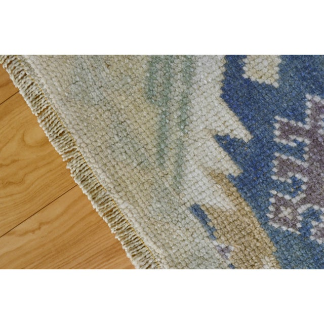 "Hand-Knotted Turkish Rug - 2'8"" x 6'9"" - Image 2 of 9"